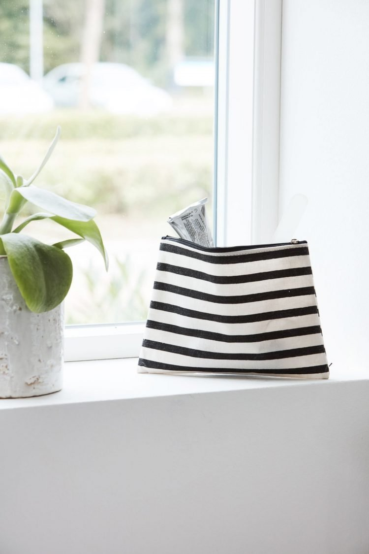Make-Up Tasche, Stripes