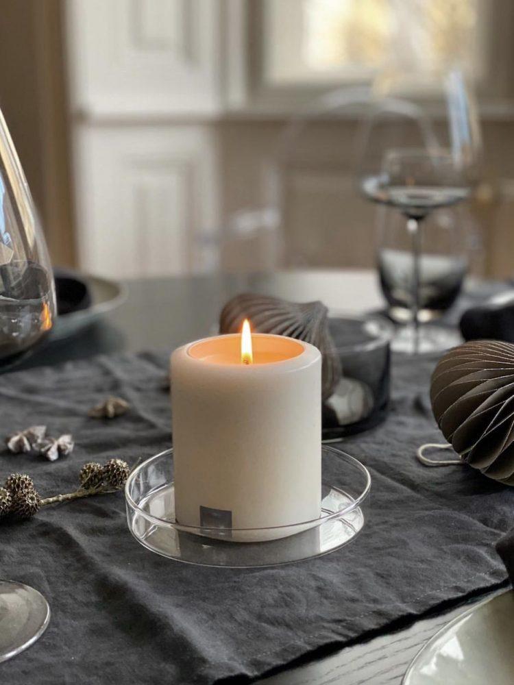 Permanent candle, D 8cm