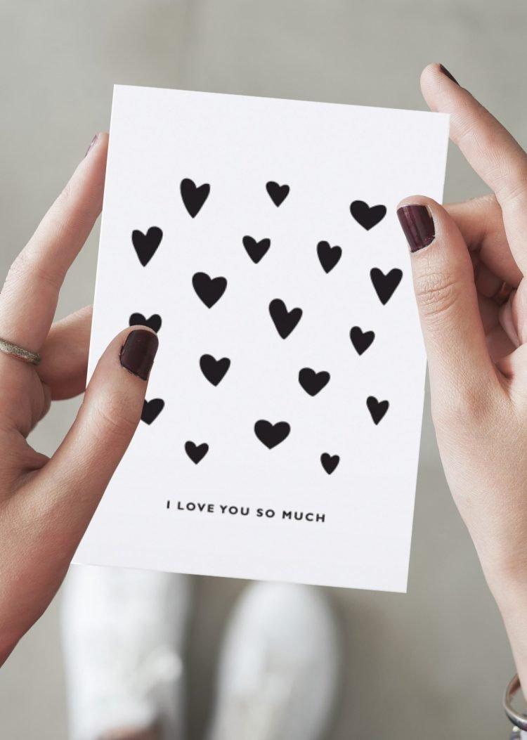 Karte - I love you so much