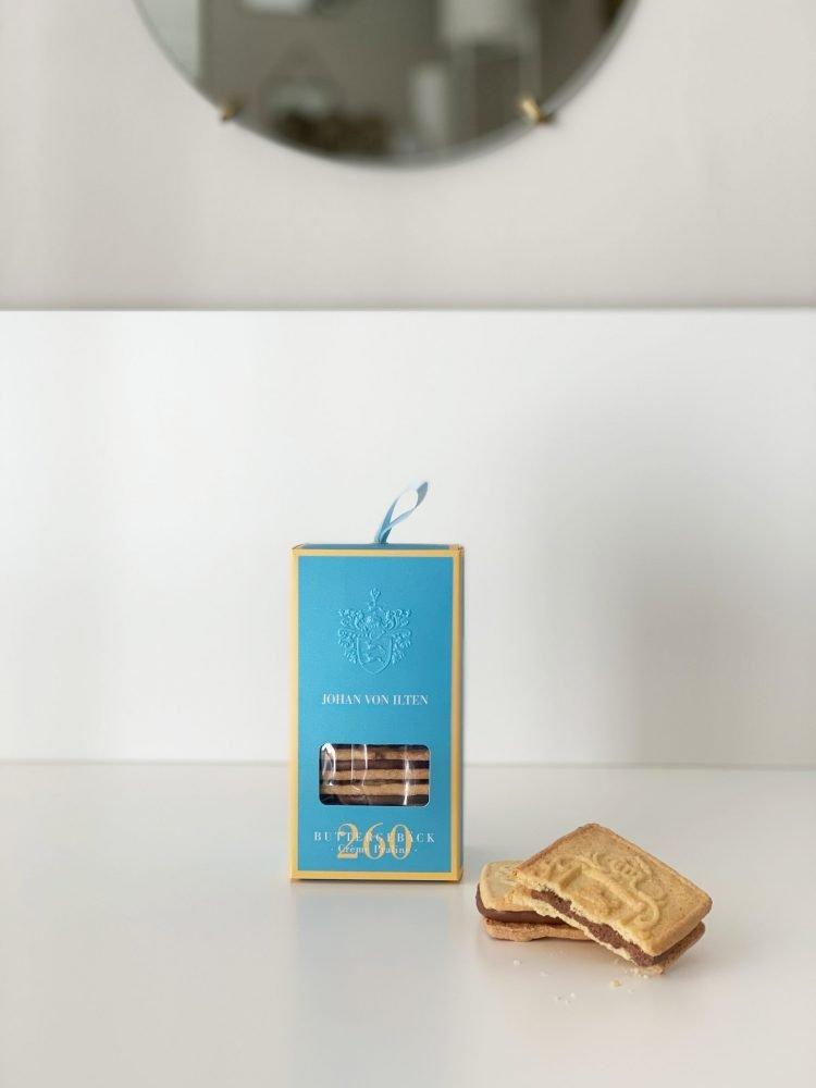 Buttergebäck - Crème Praliné