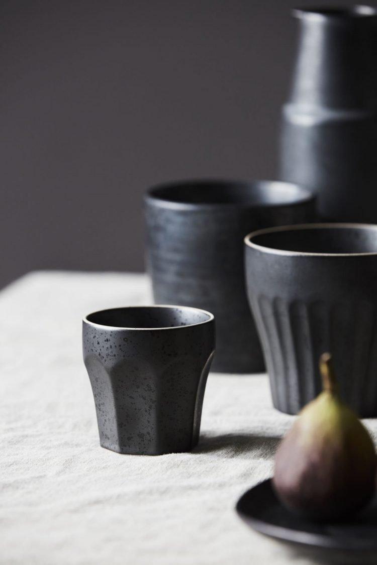 Espressobecher, Berica, Schwarz