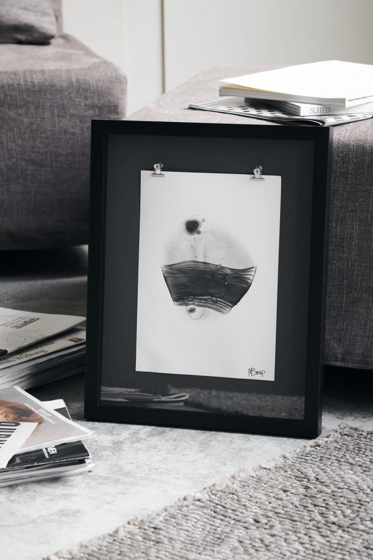 Illustration mit Rahmen, Seoan