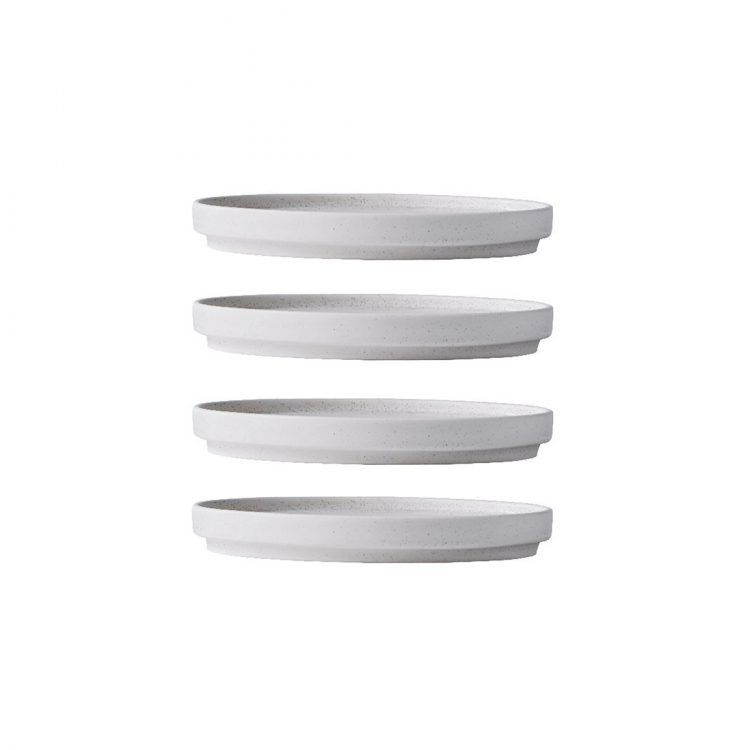 SETOMONO PLATE small, 4er SET