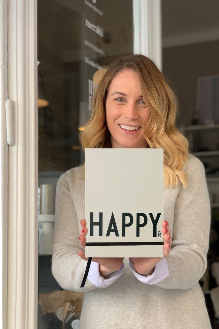 Taschenkalender Happy 2021, Design Letters