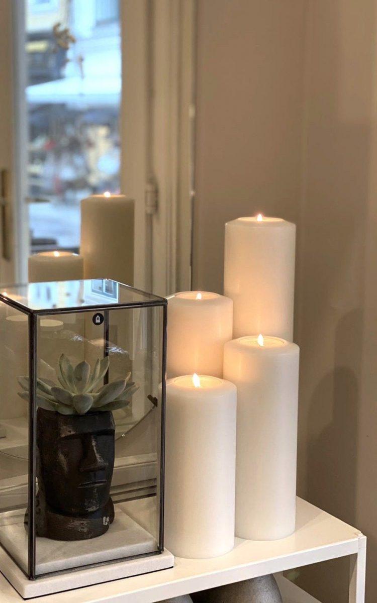 Permanent candle - D 10cm