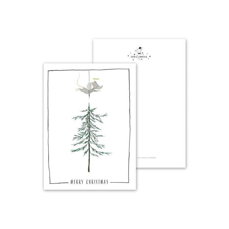 Postkarte Holy Mouse, Christmas Greetings