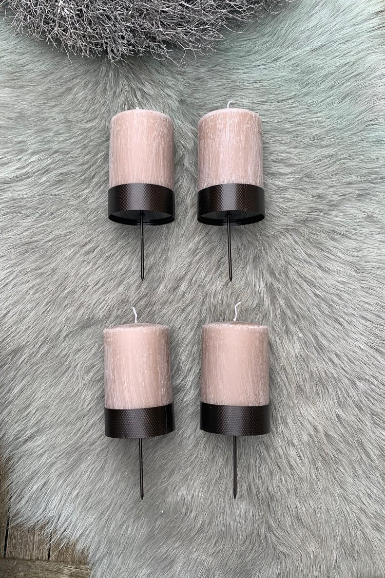 Stumpenkerzen Set