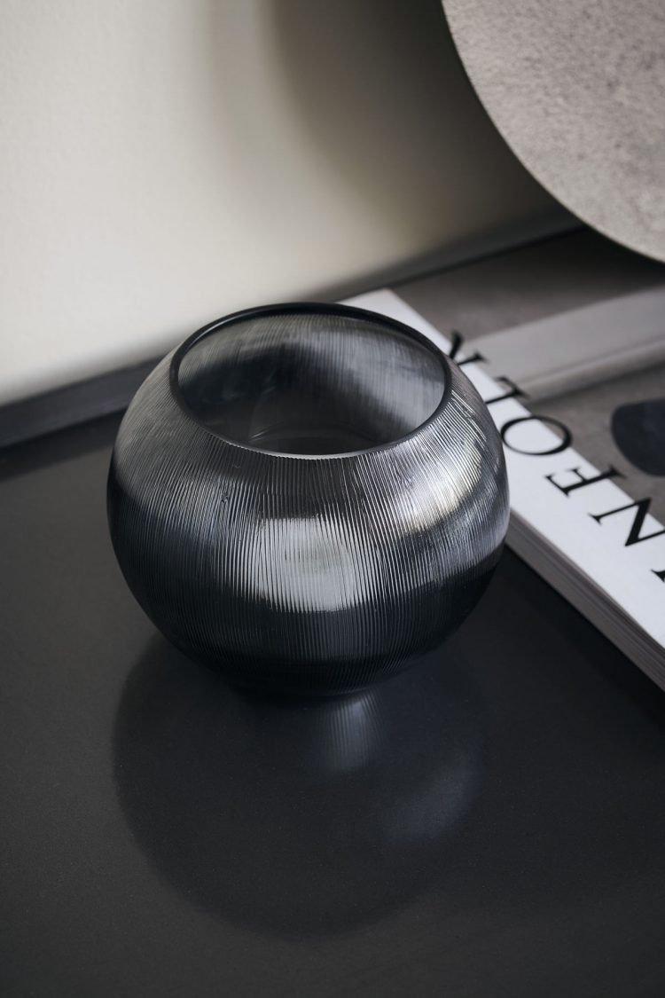 Teelicht Chub, Grau