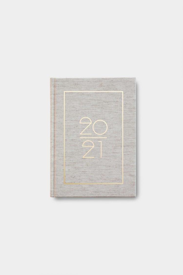Hardcover Kalender 2021, Half Linen