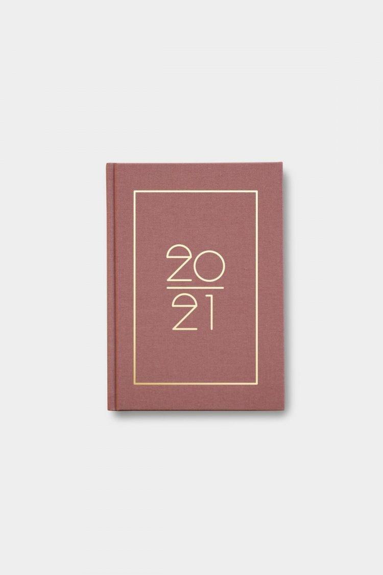 Hardcover Kalender 2021, Terracotta