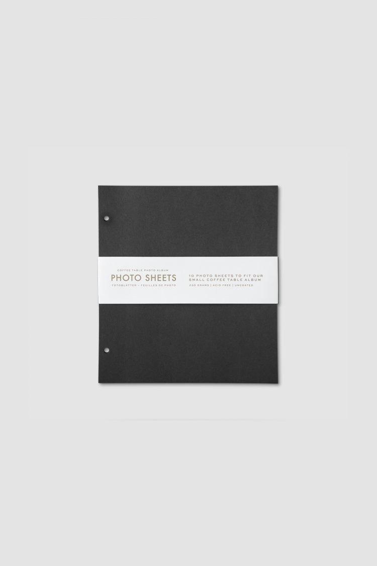 Fotoalbum - 10er Pack Nachfüllpapier (S)