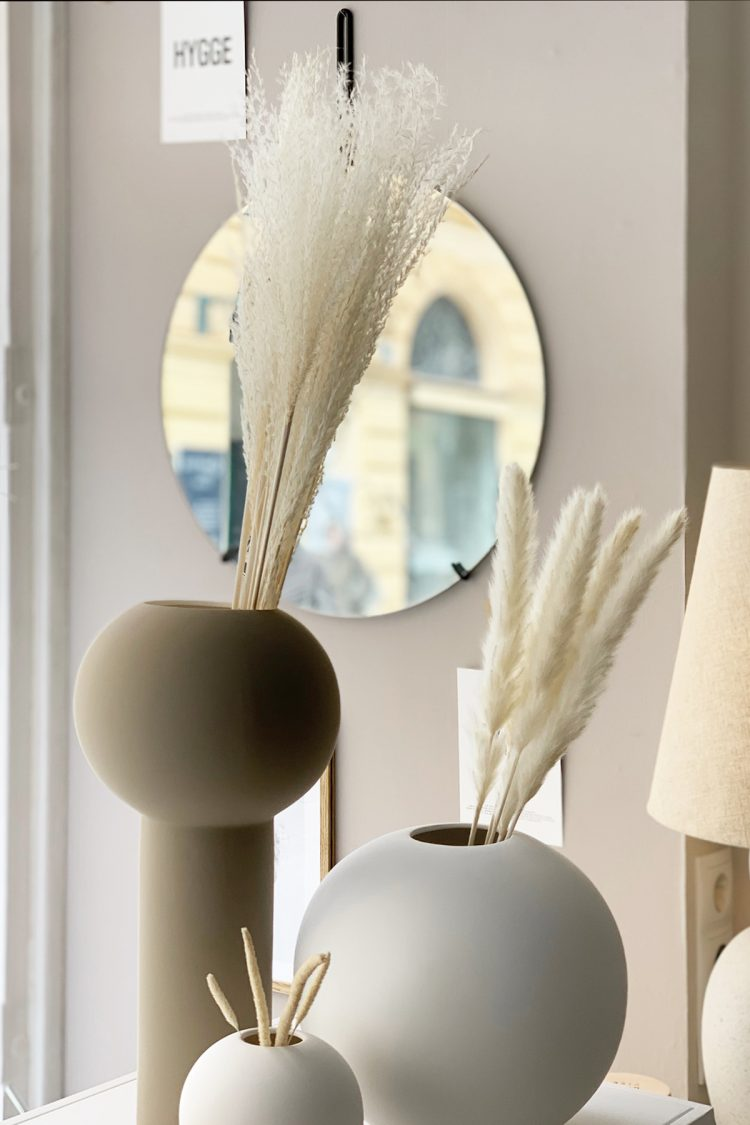 Feather Pampas, White