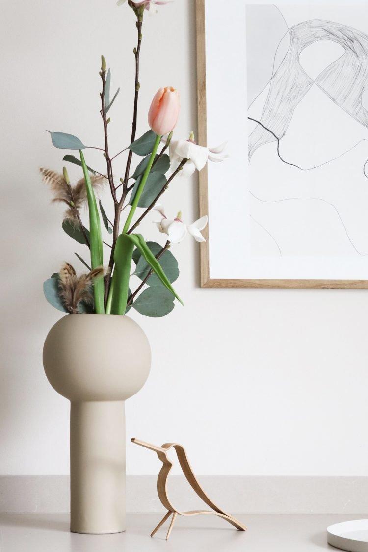 Vase Pillar, 32cm