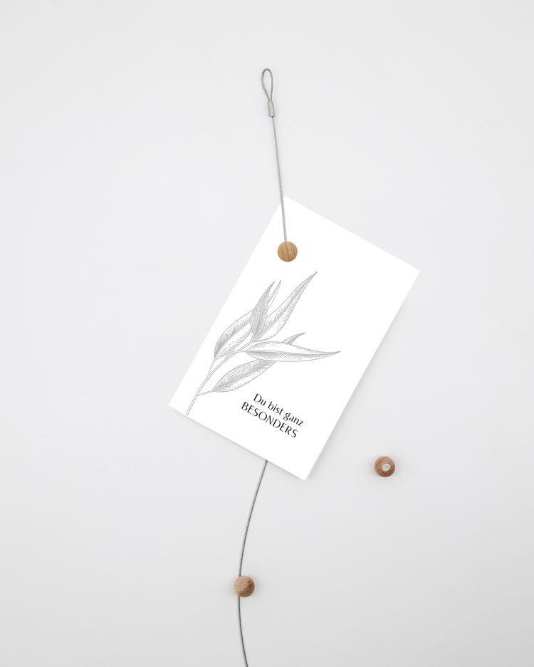 Hangtag-Set, Floral
