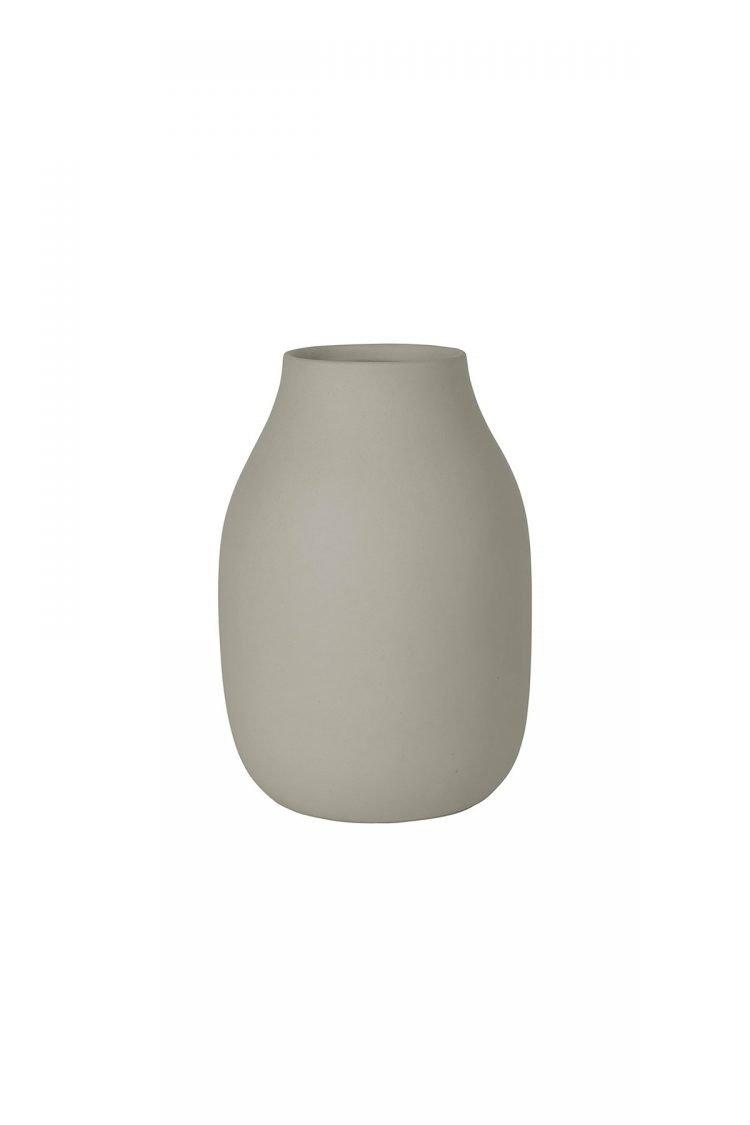 Vase colora, mourning dove