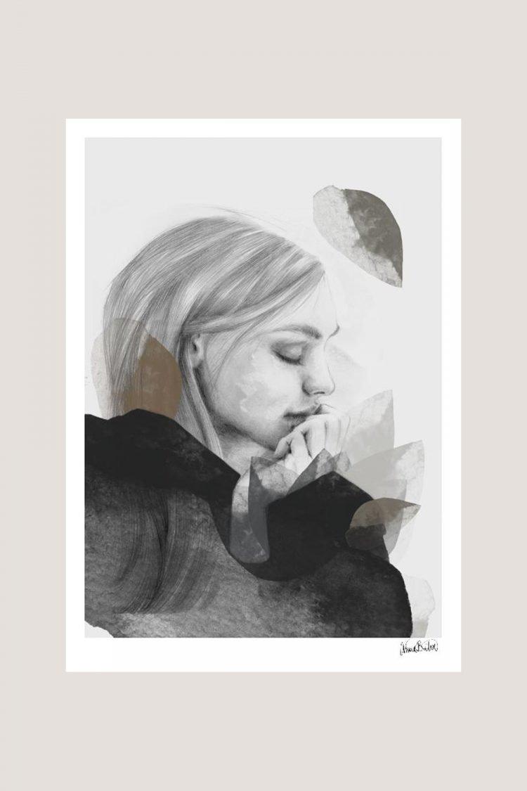 Dreamer in black, Anna Bülow