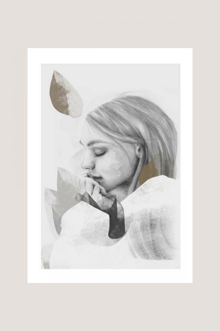 Dreamer in white, Anna Bülow