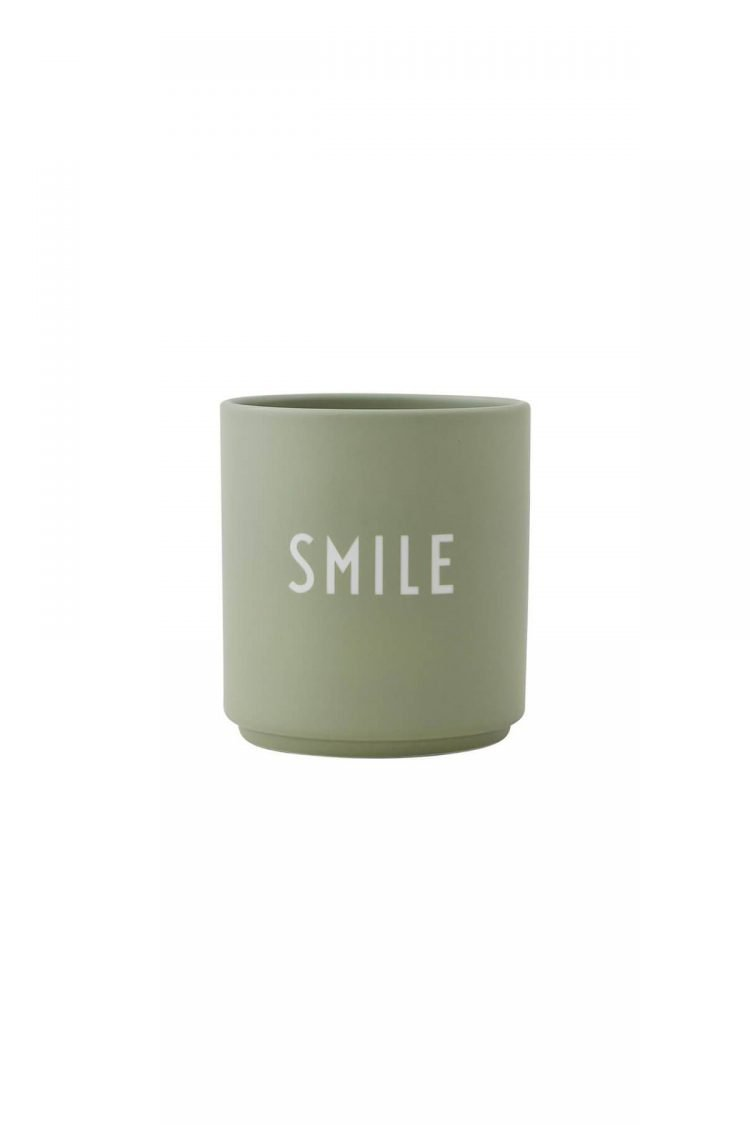 Cup Smile, Design Letters