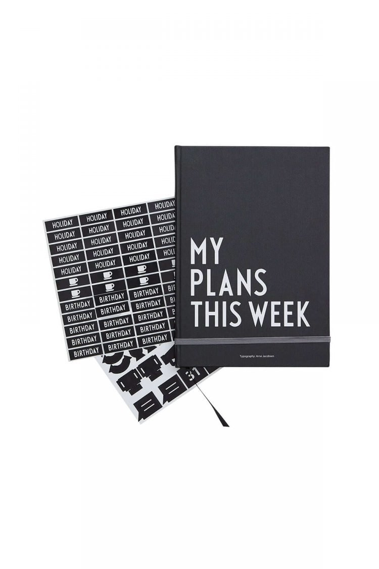 My plans this week, Design Letters