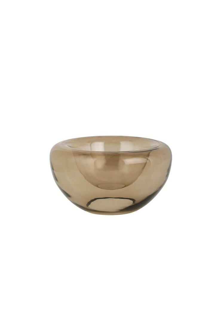 Opal Bowl, Topaz Brown