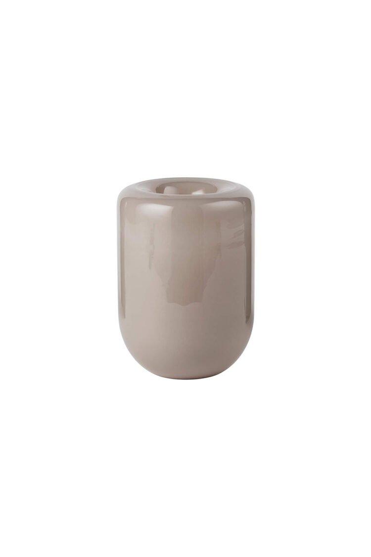Opal Vase Large, Beige