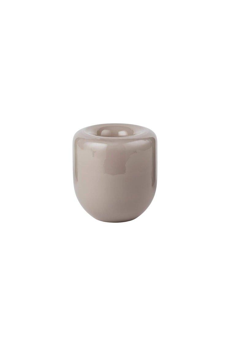 Opal Vase Small, Beige