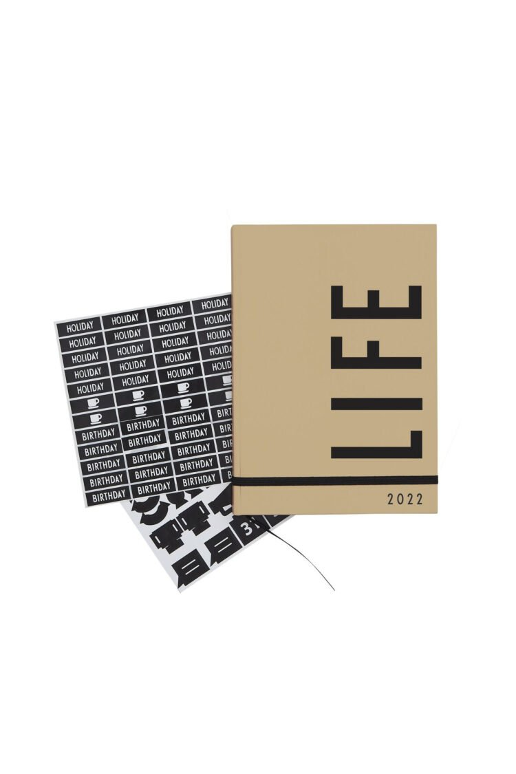 Taschenkalender 2022, Design Letters
