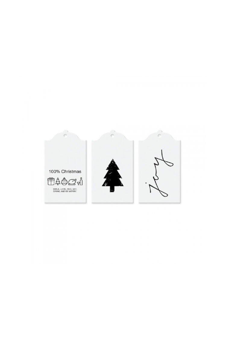 Geschenkkärtchen, Winter White